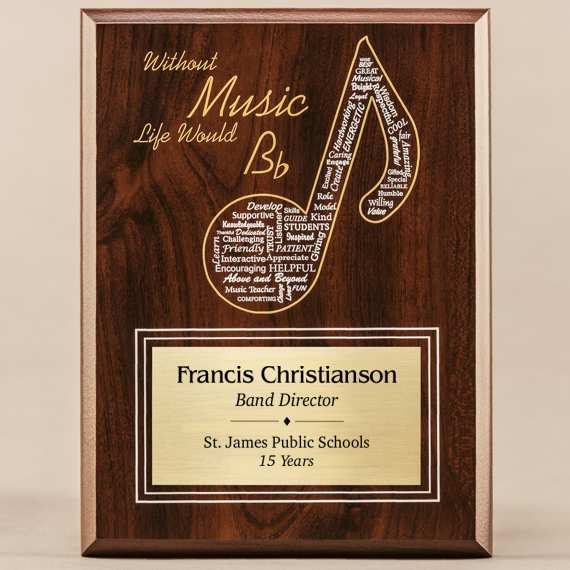 Amazing Educator Series - Music with Personalization Excellent Teacher Gift