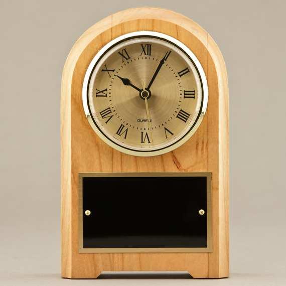 Teacher Recognition Large Mantel Clock or Decorative Desk Clock - No Personalization
