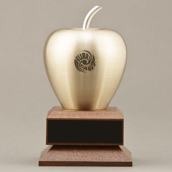 Brass Apple Desk Award