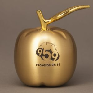 Gold Brass Apples