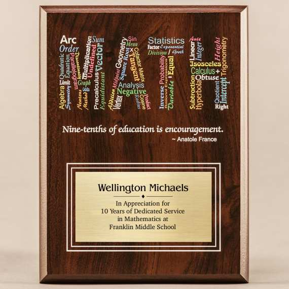 Amazing Educator Series - Math with Personalization Excellent Teacher Gift