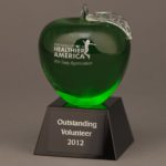 Green Crystal Apple Awards
