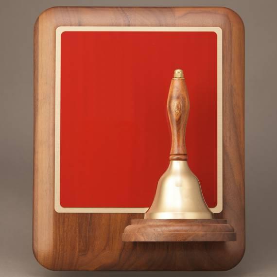 Teacher Service Award Handbell Plaque without Engraving