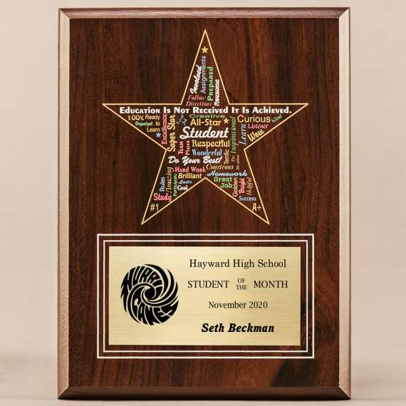 Amazing Educator Series - Star Student with Personalization