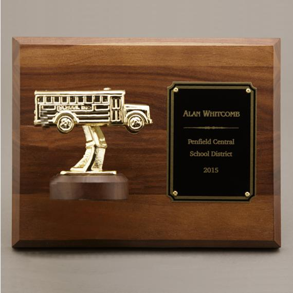 School Bus Driver Recognition Plaque - Personalization Included