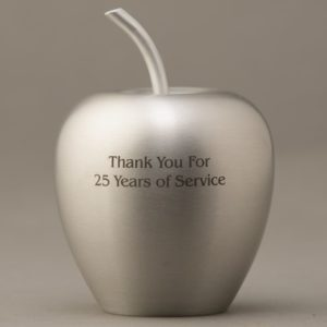 Silver Aluminum Apples