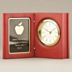 Teacher Book Clock Appreciation Retirement Gift Idea