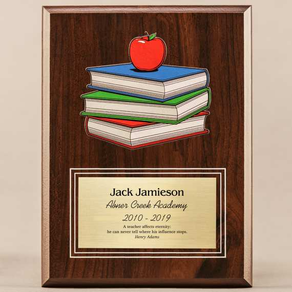 Amazing Educator Series - Teacher Apple-Books with Personalization