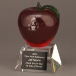 Red Crystal Apple Awards