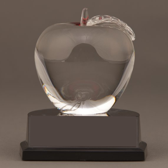 Years of Service Apple - Teacher & Business Recognition