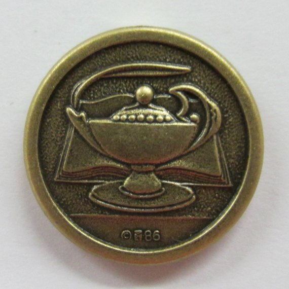 Lamp of Learning Lapel Pin