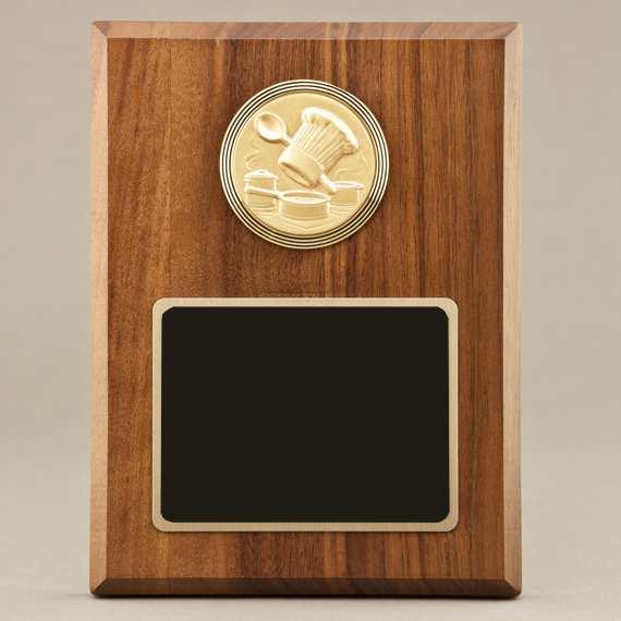 School Cook Plaque - Non-Engraved Recognition Award