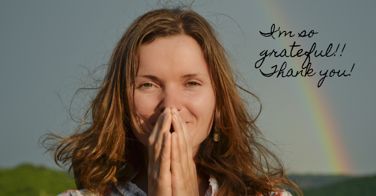 a grateful woman